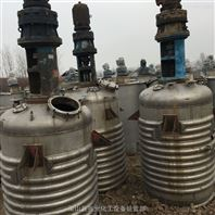 供应二手3立方高压外盘管不锈钢反应釜