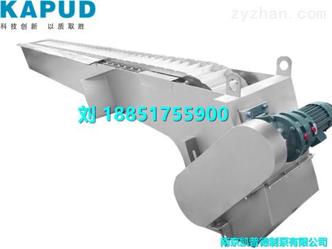 GSHP耙齿式格栅除污机 主机工作原理
