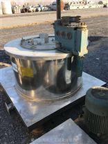 二手316L平板刮刀下部自動卸料離心機回收