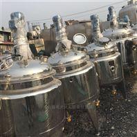 二手2立方不锈钢食品级电加热反应釜2000L