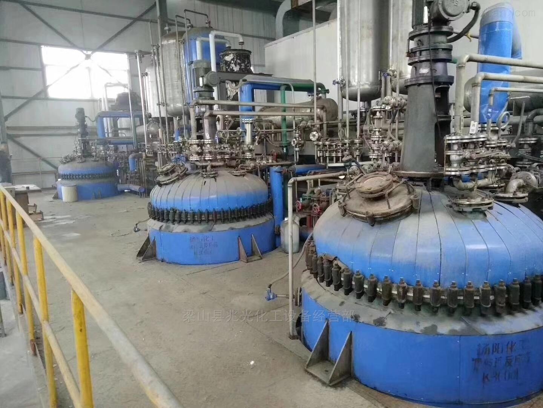 全新及二手6300升搪瓷反应釜 机械密封