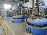 二手5000升開式搪瓷反應釜蒸汽加熱