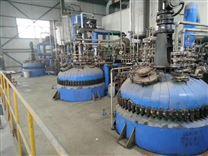 二手5000升开式搪瓷反应釜蒸汽加热