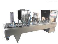 蒙牛老酸奶全自动灌装封口机大诚机械可定制