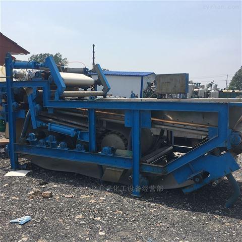 新进二手2米带宽污泥脱水带式浓缩压滤机