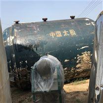 崇利收售二手10噸20噸開式閉式搪瓷反應釜