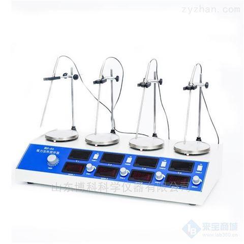 欧莱博HJ-4A数显控温磁力搅拌器