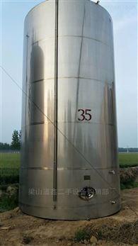 出售二手100立方立式储罐304材质
