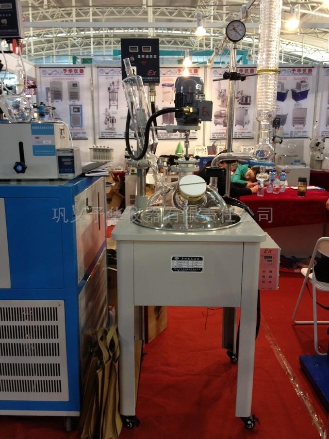 单层玻璃反应釜技术参数