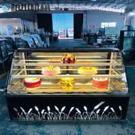 广州柏川弧边直角蛋糕柜展示柜西点陈列柜
