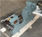 不锈钢蝴蝶型转子泵结构