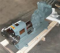 不銹鋼蝴蝶型轉子泵結構