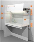 丹麦进口实验室家具labmodul标准通风柜