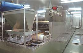 勃达定制四层网带式烘干机设备