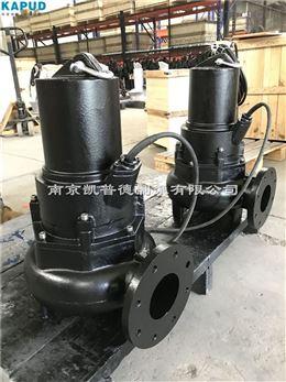 养殖畜粪池单层铰刀切割排污泵WQR20-22-3