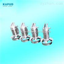 污水池小型高速搅拌器QJB0.55/6-220/3-980S