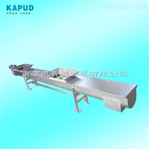 定制长度、调整角度、不锈钢无轴螺旋输送机