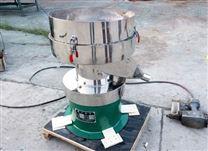 使用液體專用振動過濾篩對豆漿進行過濾