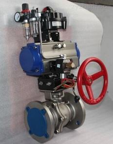 气动衬氟球阀Q641F46-10C Q641F46-16C