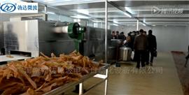 豬皮膨化設備生產廠家 帶式微波干燥機