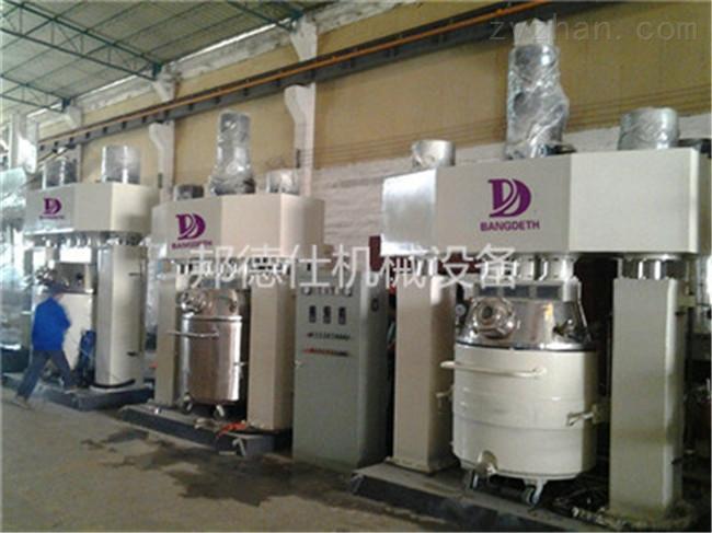 重庆强力分散机 广东硅酮耐候胶生产设备