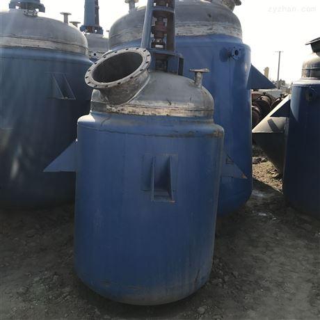 二手3吨5吨不锈钢搪瓷反应釜应用