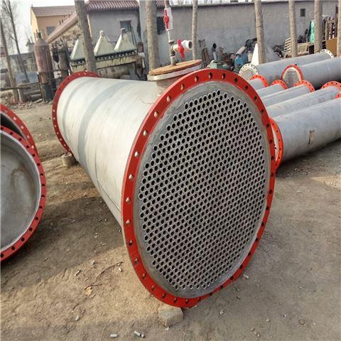 二手200平方不锈钢列管冷凝器