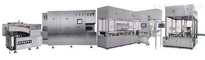 冻干液体制剂、洗、烘、灌装、轧盖联动线