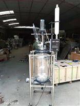 50L双层玻璃反应釜 质量*