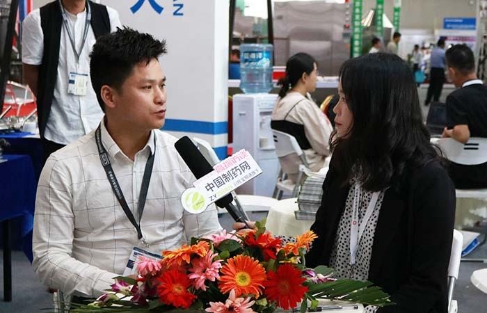 专访温州华强流体设备有限公司经理黄永明