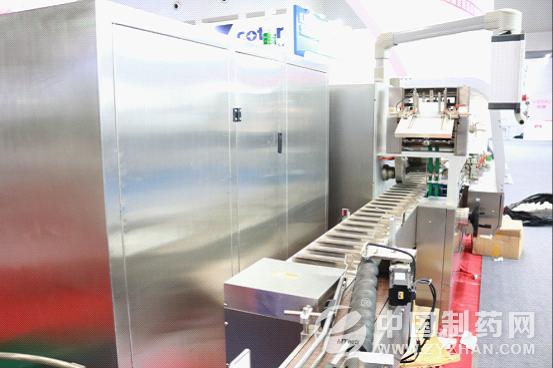 第55届药机展收官 佳德全自动高速装盒捆扎生产