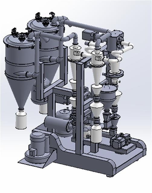 【气流粉碎机】气流粉碎机的工作原理